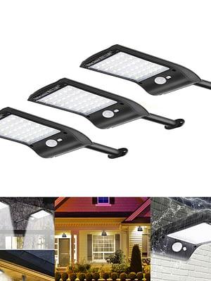 Lámpara solar Luces Jardín 36 LED solares exterior foco led
