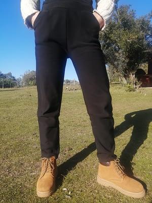 Leggin calza afelpada